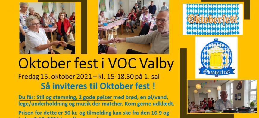Oktoberfest i VOC Valby