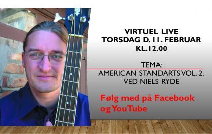 Torsdags temamusik den 11. februar 2021 - med Niels Ryde