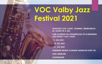 VOC Valby Jazz festival 2021