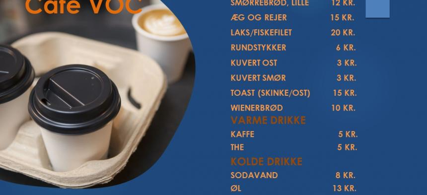 Cafeen åben - smørrebrød m.m.