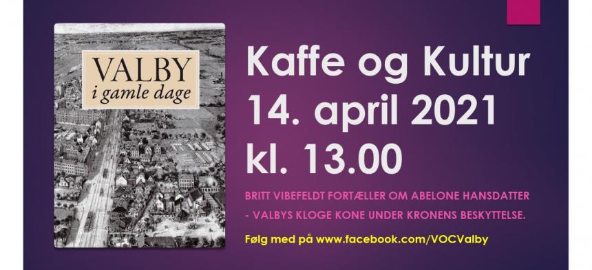 Kaffe og Kultur 14. april 2021 - Abelone Hansdatter
