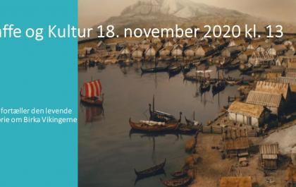 Kaffe og Kultur 18. november 2020
