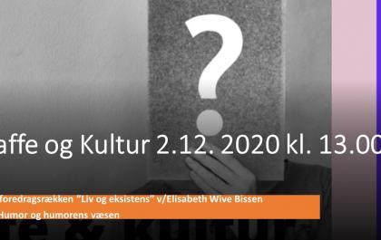 Kaffe og Kultur 2. december 2020