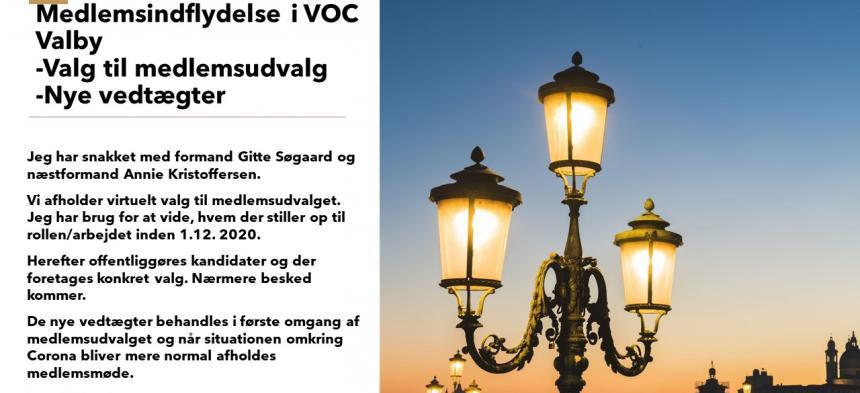 Medlemsindflydelse i VOC Valby