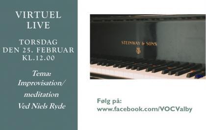 Tema musik Torsdag den 25. februar med Niels Ryde