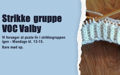 Genoplivning af strikkegruppe mandage kl. 13-15