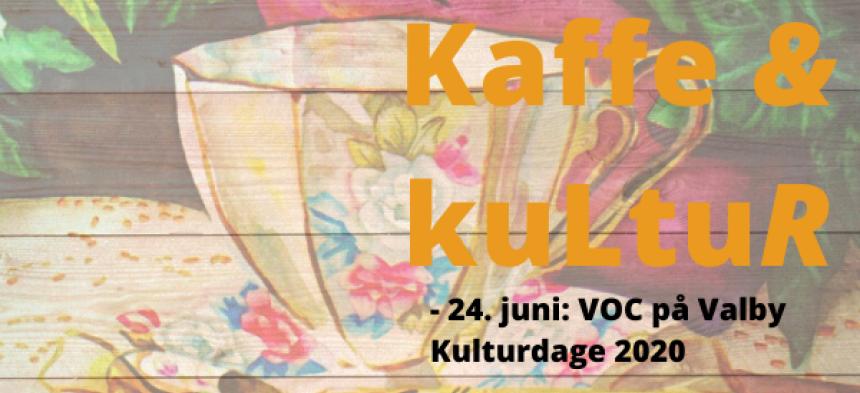Kaffe & Kultur på onsdag; Valby Kulturdage 2020