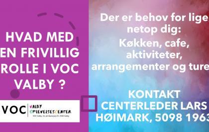 Frivillig i VOC Valby