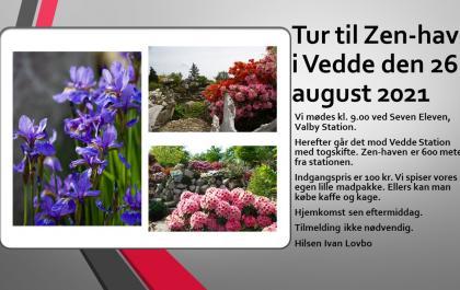 Zen-haven i Vedde 26. august 2021