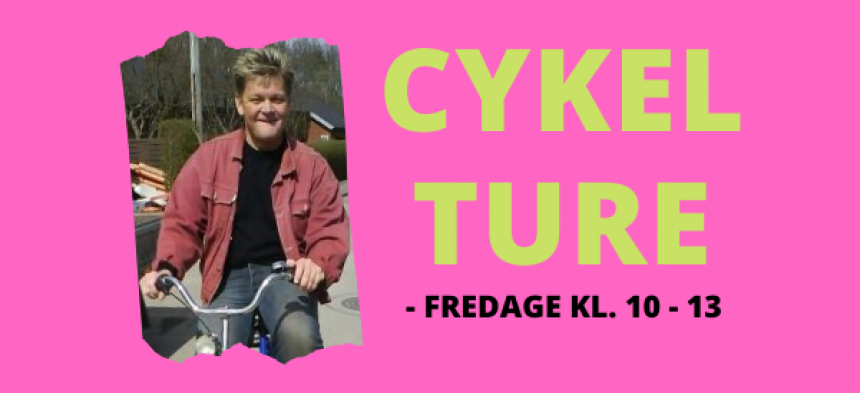 Motionscykelture - fredage kl. 10-13. BEMÆRK OPSTART 19/6