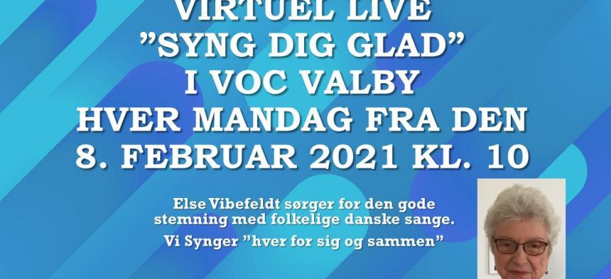 Syng dig glad - virtuelt i VOC Valby