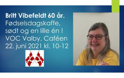 Britt Vibefeldt 60 år