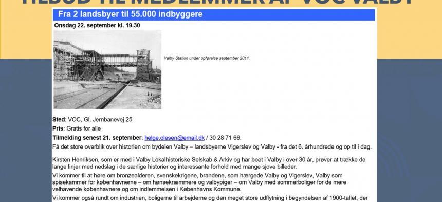 Valby Lokalhistoriske Selskab & Arkiv - Helge Rørdam Olesen