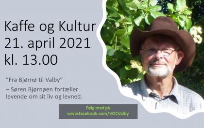 Kaffe og Kultur 21. april 2021 -Fra Bjørnø til Valby