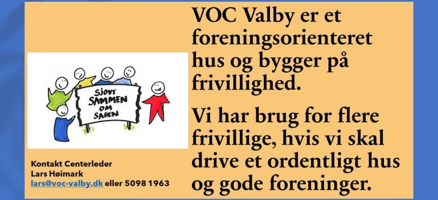 Frivillighed i VOC Valby