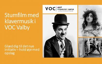 Stumfilm i VOC Valby