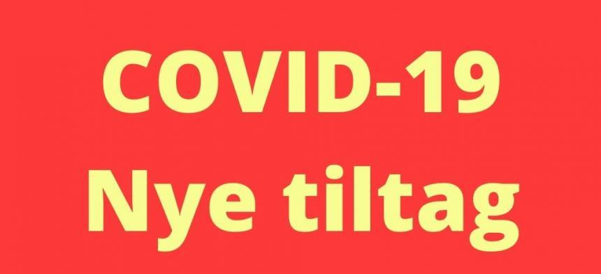Nye tiltag ifht. COVID-19