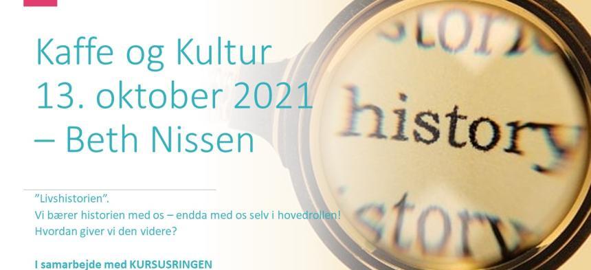 Kaffe og Kultur 13. oktober 2021