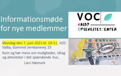 Informationsmøde i VOC Valby