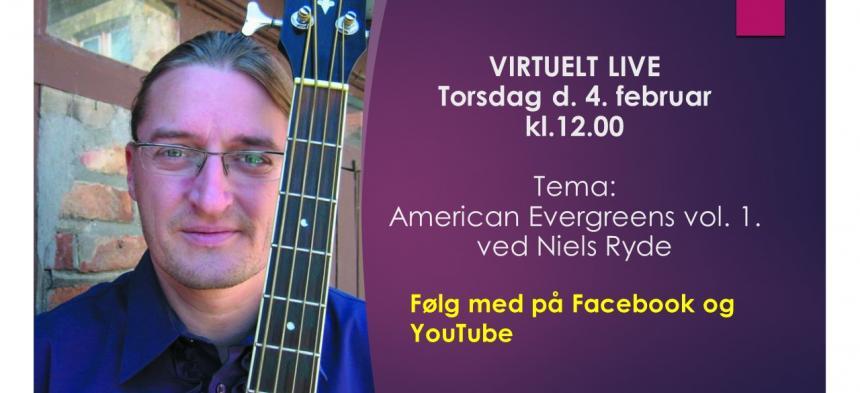 Torsdags temamusik den 4. februar 2021 - med Niels Ryde