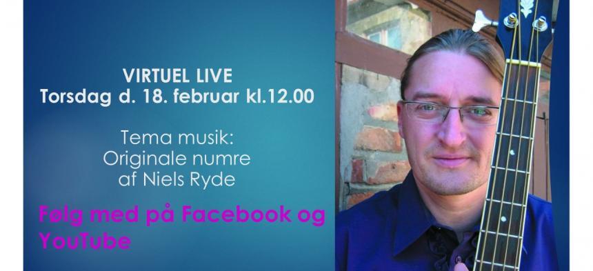 Tema musik Torsdag den 18. februar med Niels Ryde